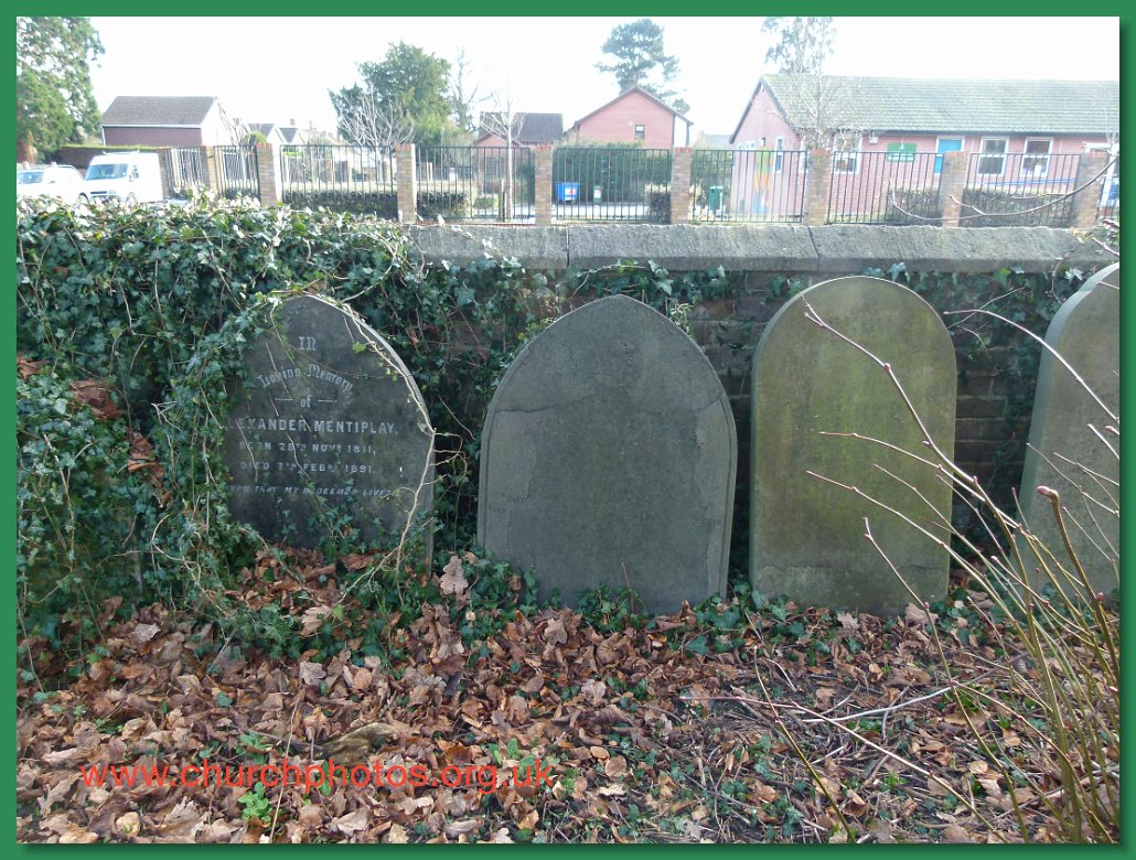 image of closed churchyard