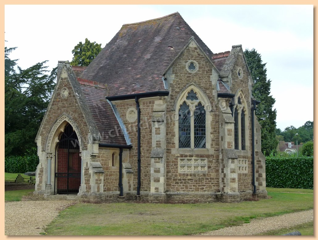 image of cemetery chapel